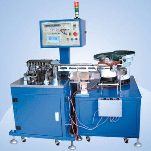 Automated bulk parts molding, Cutting Machine